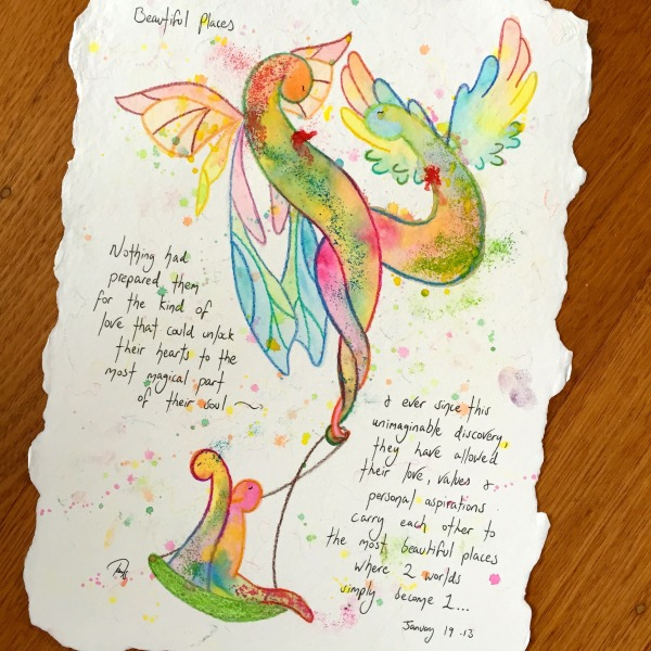 Exclusive Tailor Made Soul Stories feather deckled paper