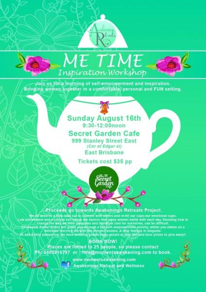 Me Time ~ Inspiration Workshop