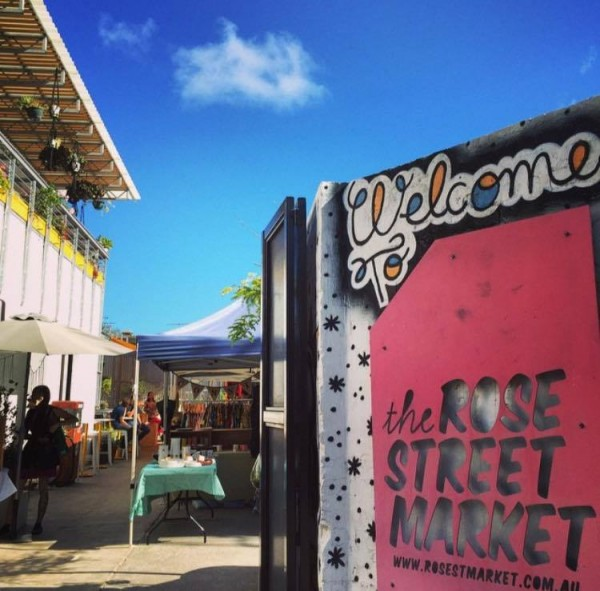 The Rose Street Artist Market
