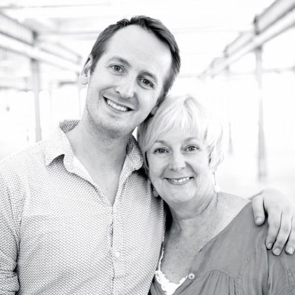 Paul Malek with his mum/mentor Karen