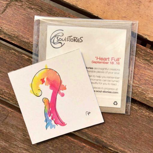 Heart Full ~ mini gift cards